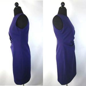 Tahari Dresses - NWT Tahari Katalina Dress asymmetrical blueberry